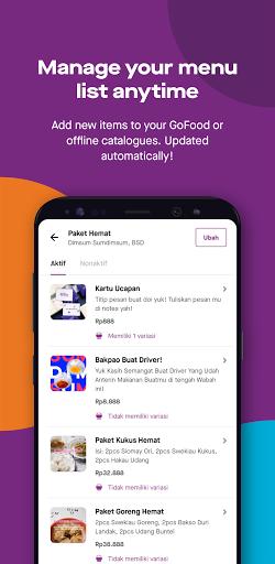 GoBiz - Merchant App - GoFood, GoKasir, GoPay android2mod screenshots 6