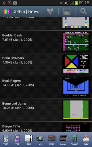 ColEm - Free ColecoVision Emulator modiapk screenshots 1