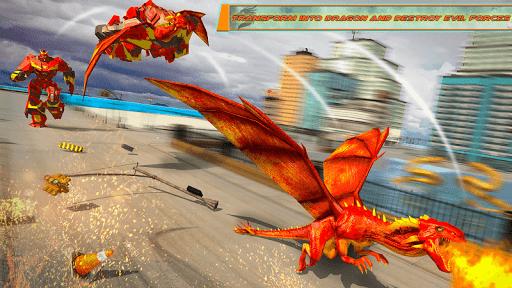 Dragon Robot Transforming Car 2.7 screenshots 8