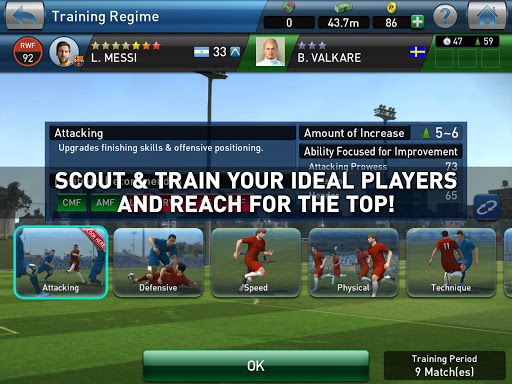 PES CLUB MANAGER apktram screenshots 11