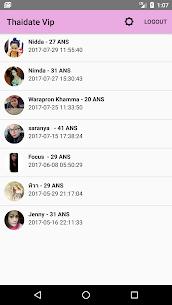 Thaidate VIP – Online Dating with Thai Women 1.1 036 MOD + APK + DATA Download 2