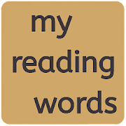 my reading words