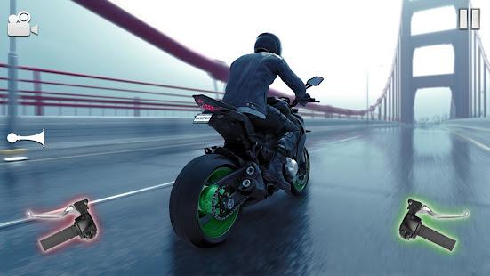 Highway Bike Riding Simulator 1.5 screenshots 1