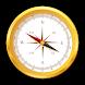 方位磁針 アプリ 無料 - 方位磁石 アプリ 無料 - コンパス - 方位磁石 - Androidアプリ