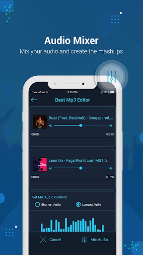 Best Mp3 Editor: Cut, Join, Mix, Convert, Speed modavailable screenshots 3