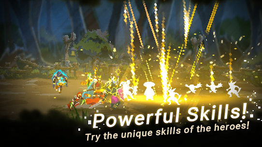 Unknown Heroes Idle Mod Apk 1.1.00 (Unlimited Gold/Diamonds/Ores/Stones) 3