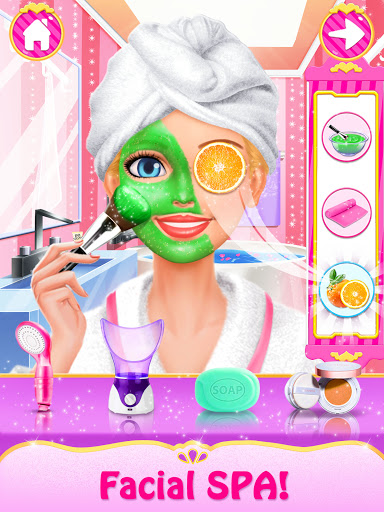 Spa Day Makeup Artist: Makeover Salon Girl Games android2mod screenshots 12