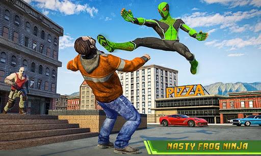 Frog Ninja Hero Gangster Vegas Superhero Games 1.2 Paidproapk.com 3