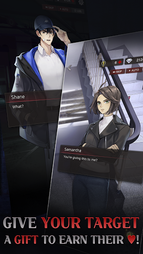 Havenless - Your Choice Otome Thriller Game Apkfinish screenshots 20