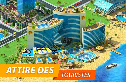 Code Triche Megapolis: Bâtis la ville de tes rêves! (Astuce) APK MOD screenshots 5