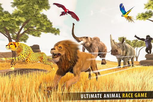 Savanna Animal Racing 3D: Wild Animal Games 1.0 screenshots 9