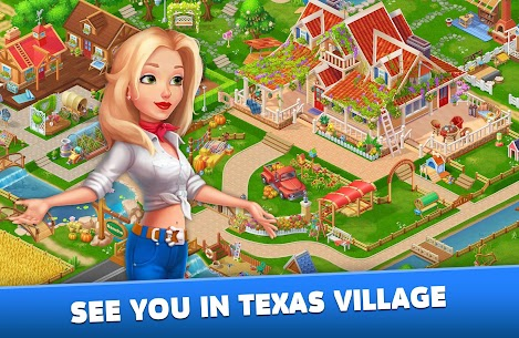 Solitaire: Texas Village (Unlimited Money) 5