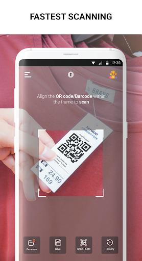 QR Scanner - QR Code Reader & Barcode Generator 2.0.36 Screenshots 2