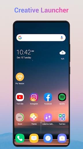 Creative Launcher - Quick & smart launcher 2020 screenshots 1