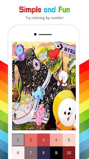 BT21 Color by Number