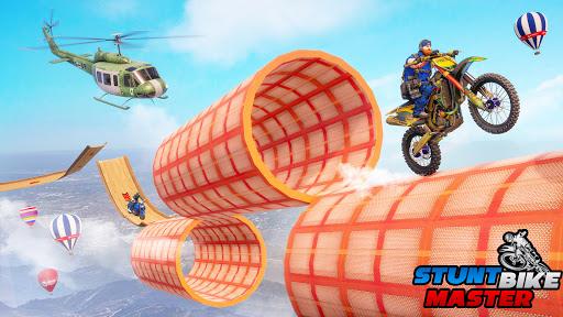 Police Bike Stunt Games: Mega Ramp Stunts Game  screenshots 8