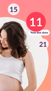 Pregnancy due date tracker with contraction timer 1.23.0 Screenshots 5