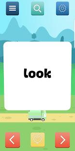 Animated Flashcards: Sight Words