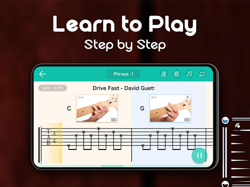 Real Guitar - Free Chords, Tabs & Music Tiles Game 1.5.4 Screenshots 8