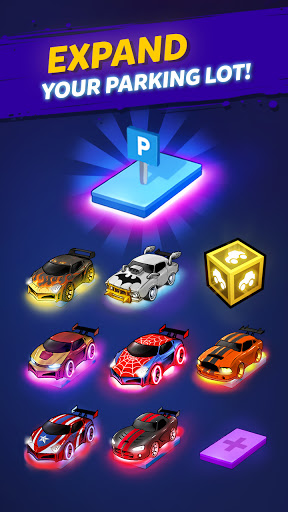 Merge Cyber Cars: Sci-fi Punk Future Merger  screenshots 10