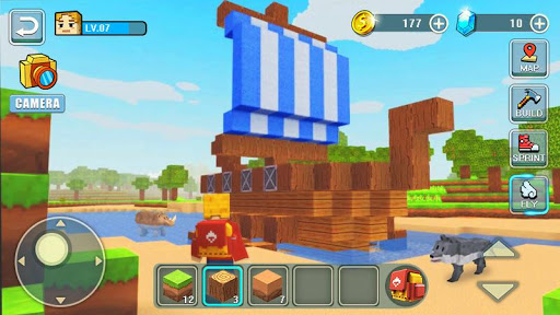 World Building Craft Apkfinish screenshots 6