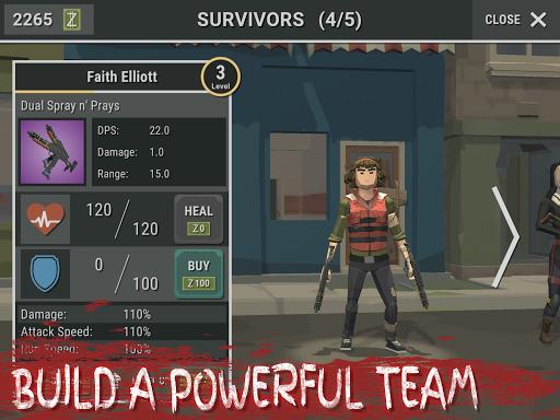 Overrun: Zombie Horde Apocalypse Survival TD Game apkpoly screenshots 13