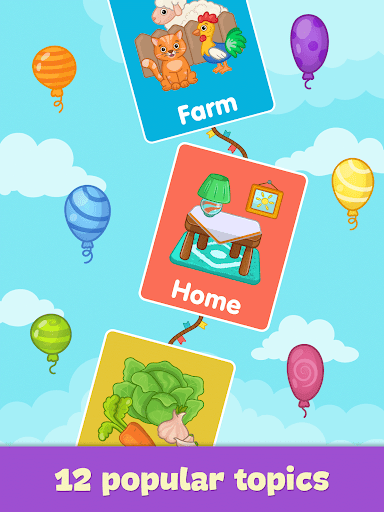Baby flash cards for toddlers 1.10 Screenshots 9