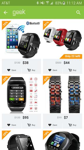 Geek - Smarter Shopping 3.0.1 screenshots 1