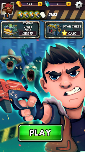 Zombie Blast - Match 3 Puzzle RPG Game  screenshots 21