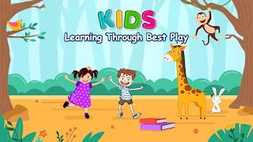 Kindergarten Kids Learning Games : Educational App