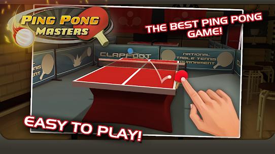 Ping Pong Masters Apk İndir 3