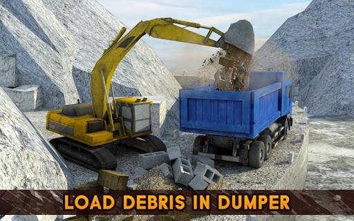 Hill Excavator Mining Truck Construction Simulator screenshots 6