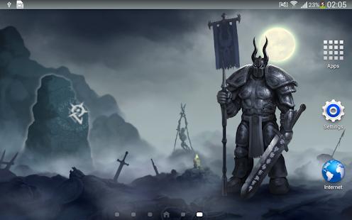 Knight Dark Gothic Wallpaper