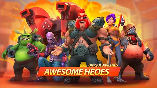 Mad Heroes - Frag Hero Shooter modiapk screenshots 1
