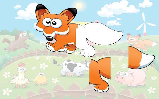 Animal sounds puzzle HD 1.0 screenshots 3