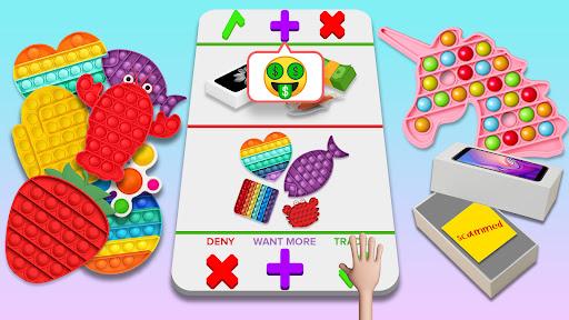 Fidget Trading : Pop it - Fidget Toys relaxing screenshots 1