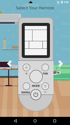 remote control for aux air conditioner screenshot 1