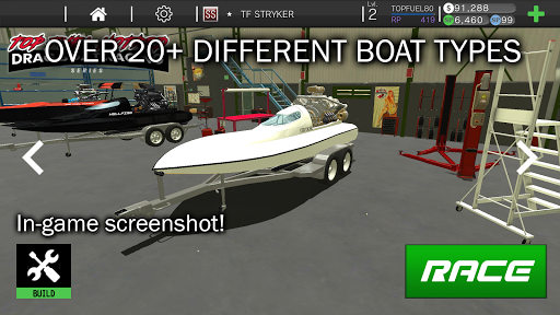 Top Fuel Hot Rod - Drag Boat Speed Racing Game 1.12 screenshots 6