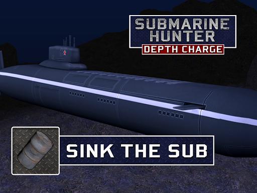 Submarine Hunter Depth Charge screenshots 5