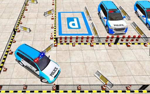 Police Jeep Spooky Stunt Parking 3D 0.4 Screenshots 8
