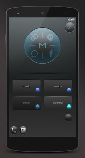 Dark UI for KLWP