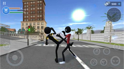 Spider Stickman Rope: Vegas Crime City Hero 1.0.25 screenshots 6