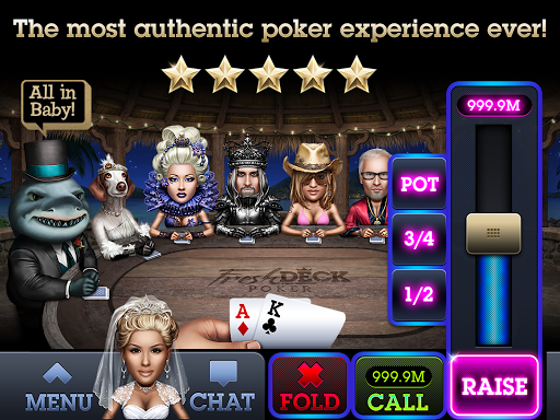 Fresh Deck Poker - Live Hold'em 2.89.2 screenshots 6
