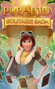 Pyramid Solitaire Saga Screenshot