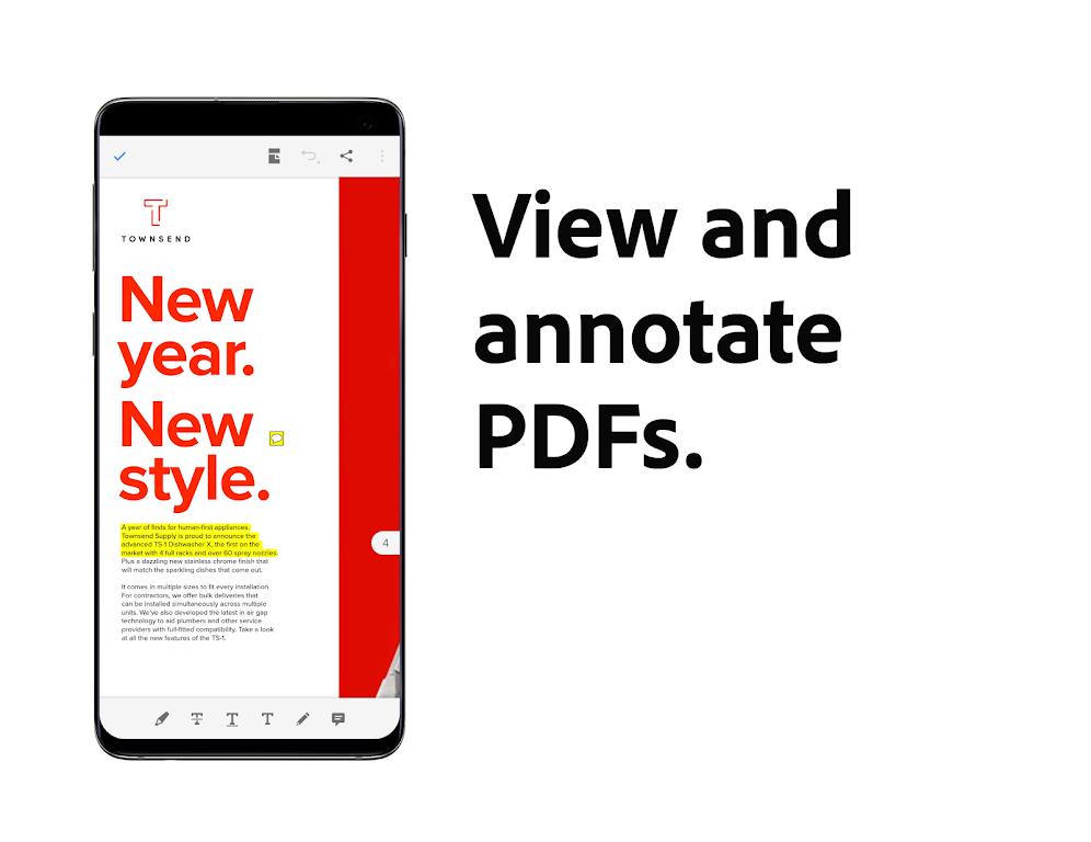 Adobe Acrobat Reader: Edit PDF poster 3