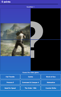 Guess the Game — Video Games Quiz, Trivia and Test