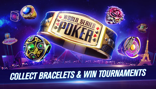 Foto do World Series of Poker WSOP Texas Holdem Poker