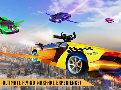 Flying Robot Car Games - Robot Shooting Games 2020 2.1 screenshots 13