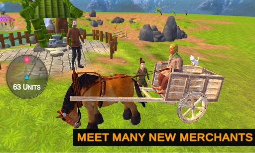 Horse Cart Offroad Farming Transport Simulator  screenshots 2