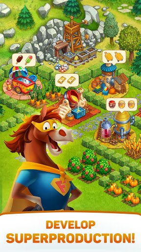 Superfarmers: happy farm & heroes city building ud83cudf3b android2mod screenshots 3